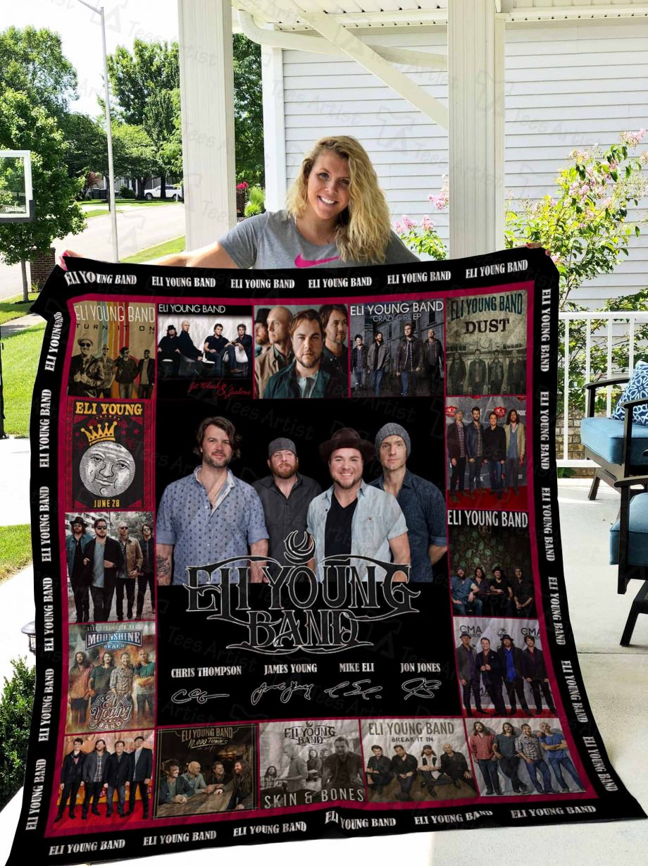 Eli Young Band Quilt Blanket 02638