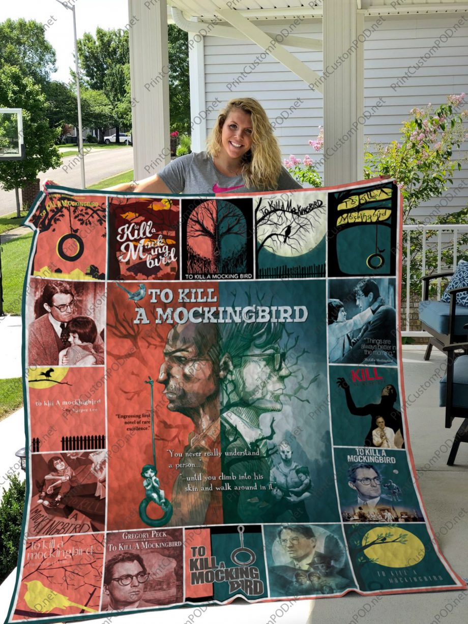 H KP8211 To Kill a Mockingbird Quilt Blanket