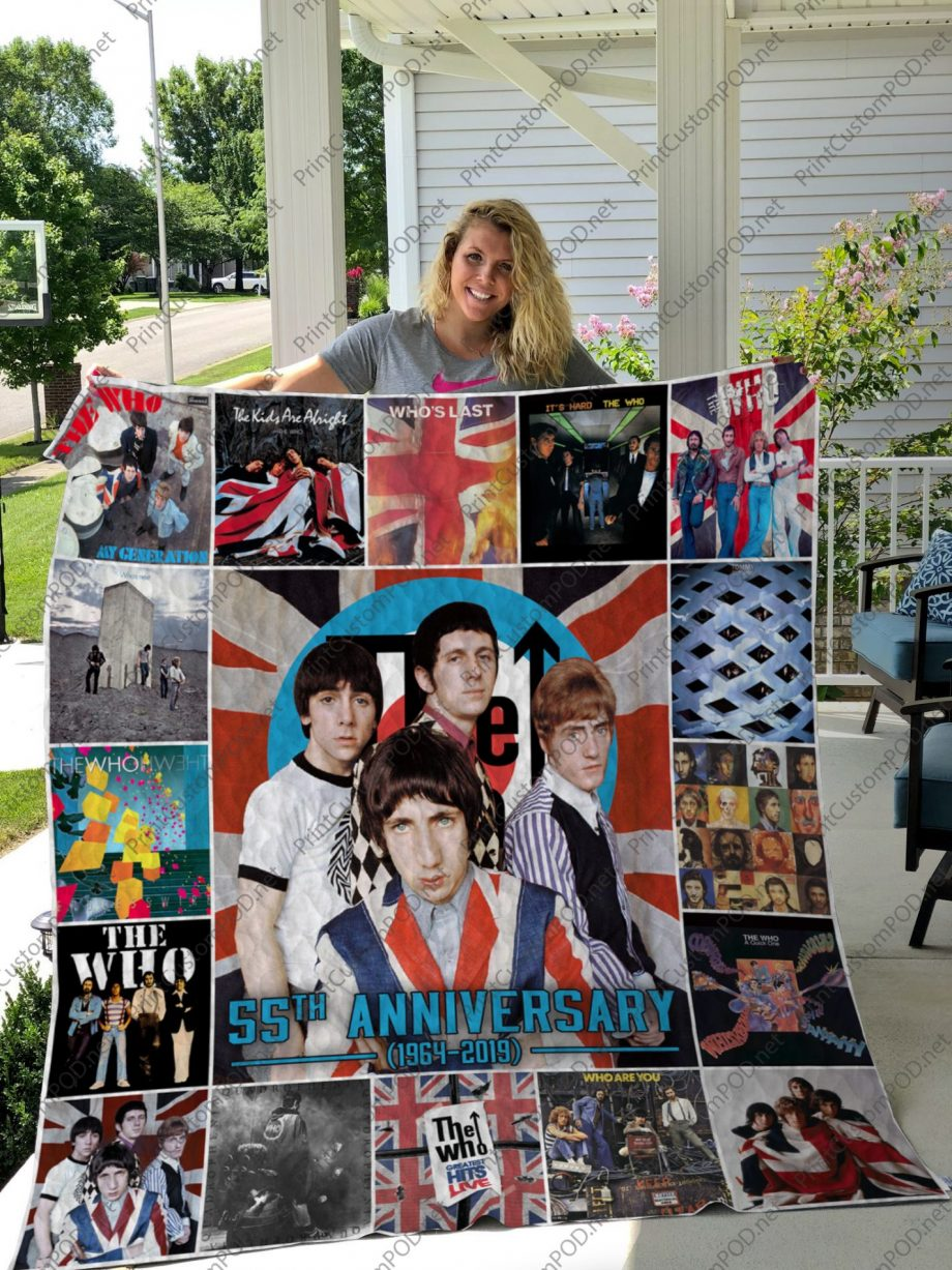 H -The Who Quilt Blanket