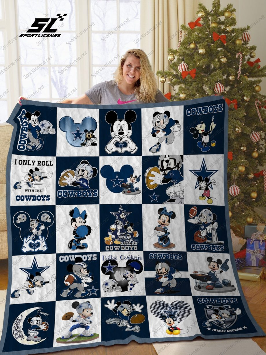 A special gift for fans KP8211 BL – DC DN Quilt Blanket