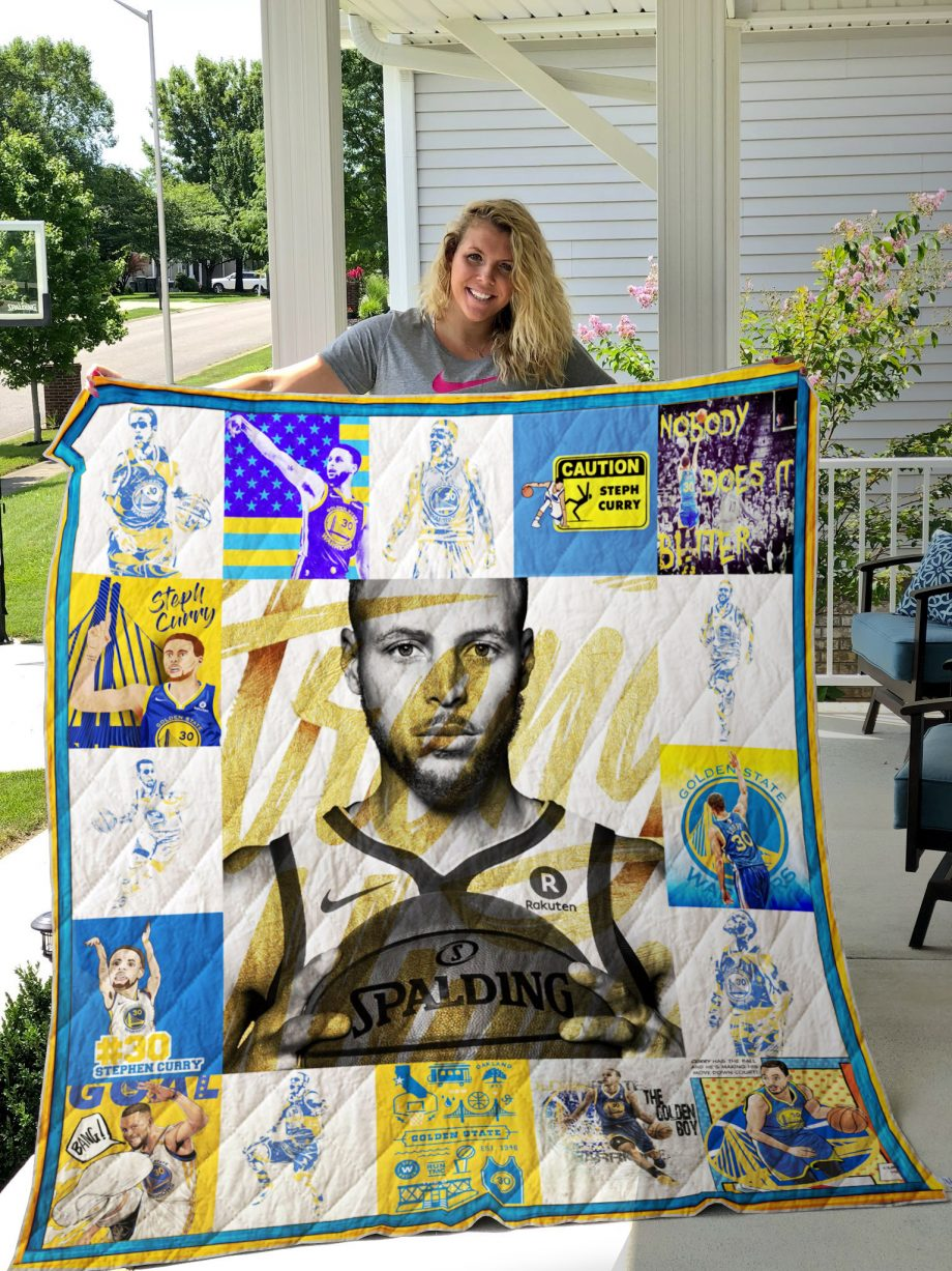 Stephen Curry Quilt Blanket