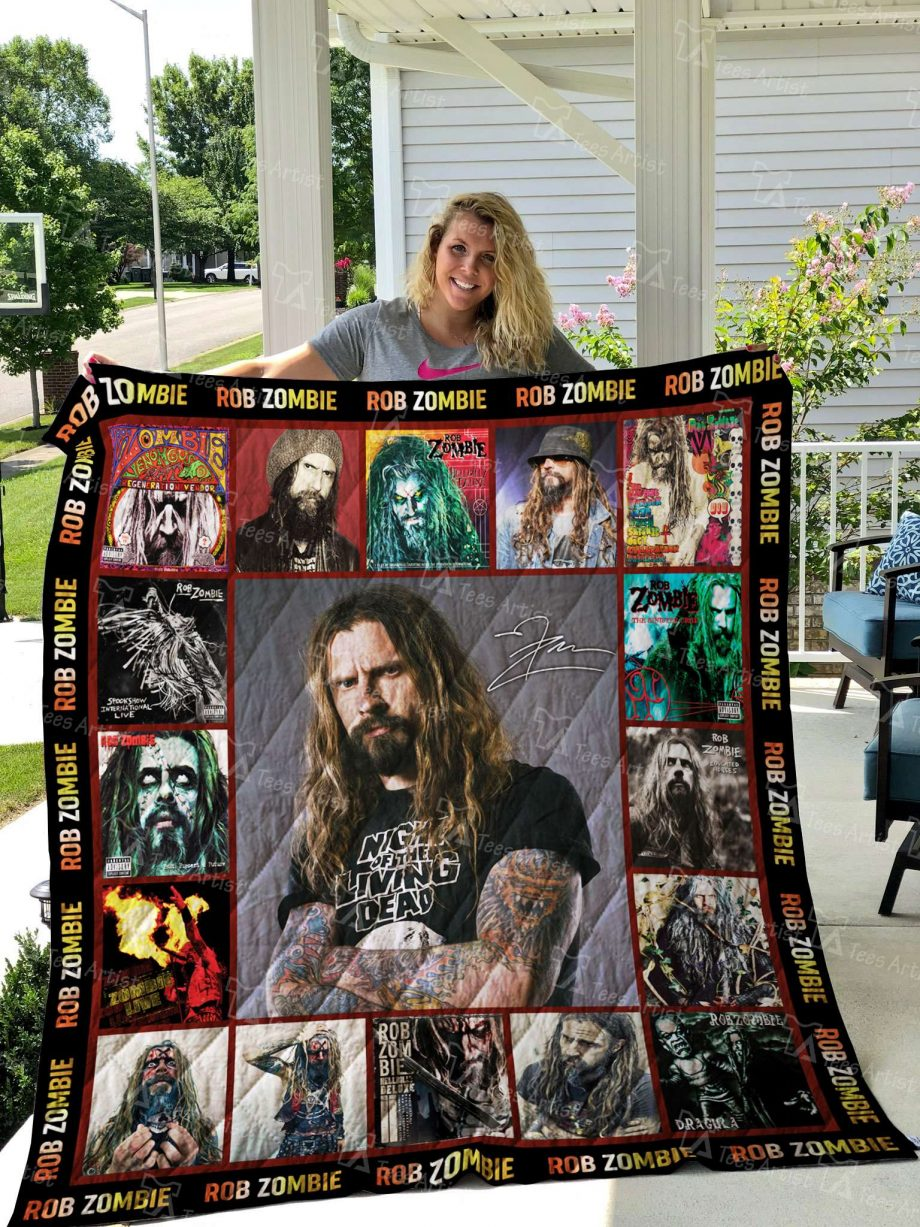 Rob zombie Quilt Blanket 02579