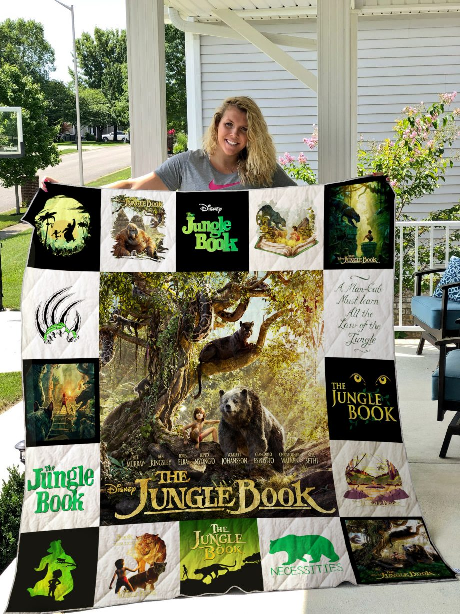 THE JUNGLE BOOK (2016) Quilt Blanket