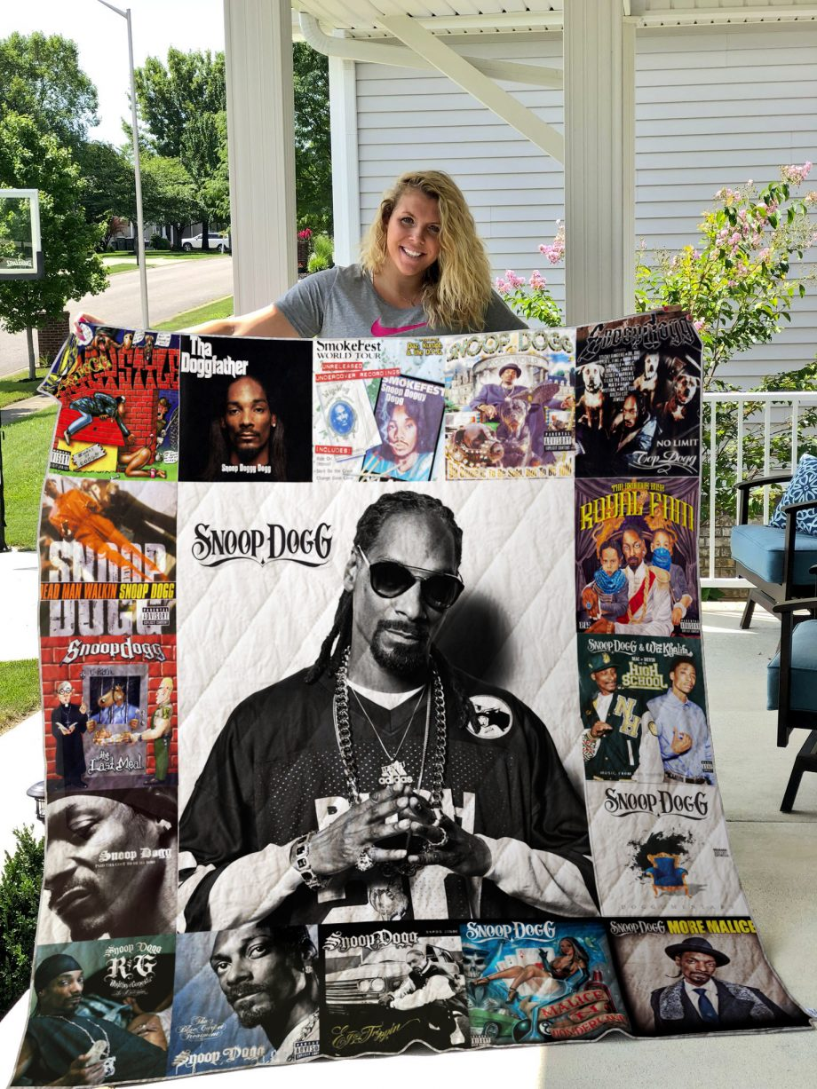 Snoop Dogg Style Two Quilt Blanket