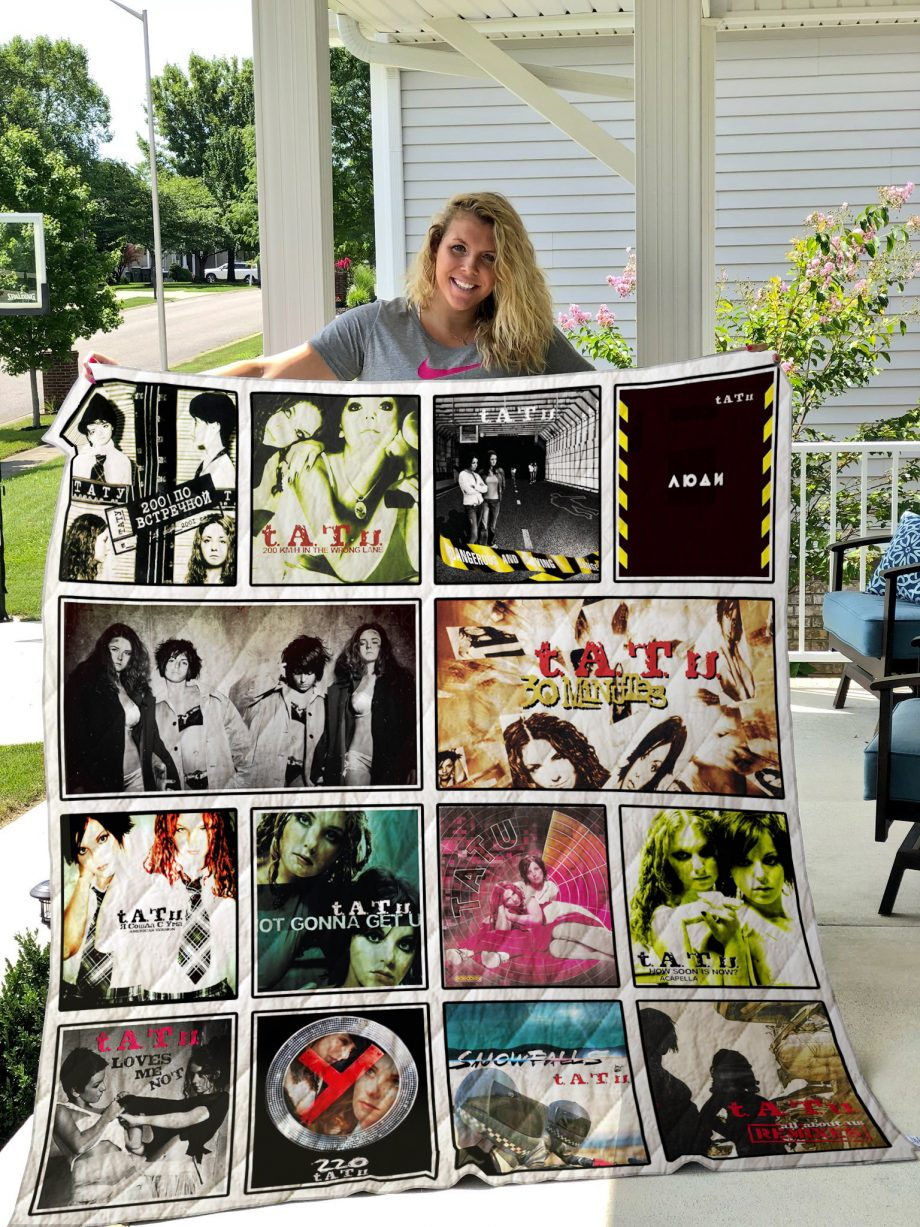 t.A.T.u. Quilt Blanket