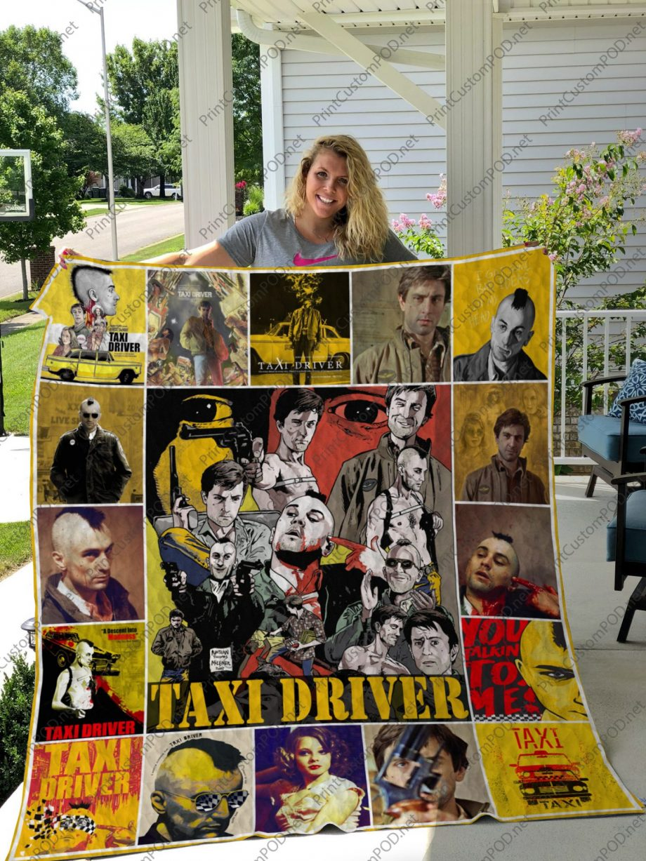 H KP8211 Taxi Driver Quilt Blanket