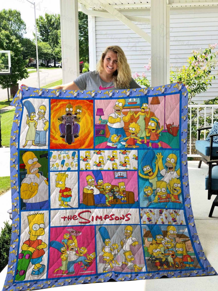 The Simpsons Quilt Blanket 02739