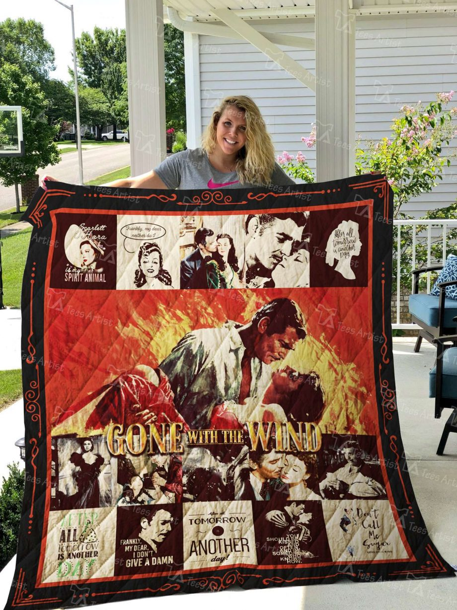 Gone With The Wind Quilt Blanket 02679