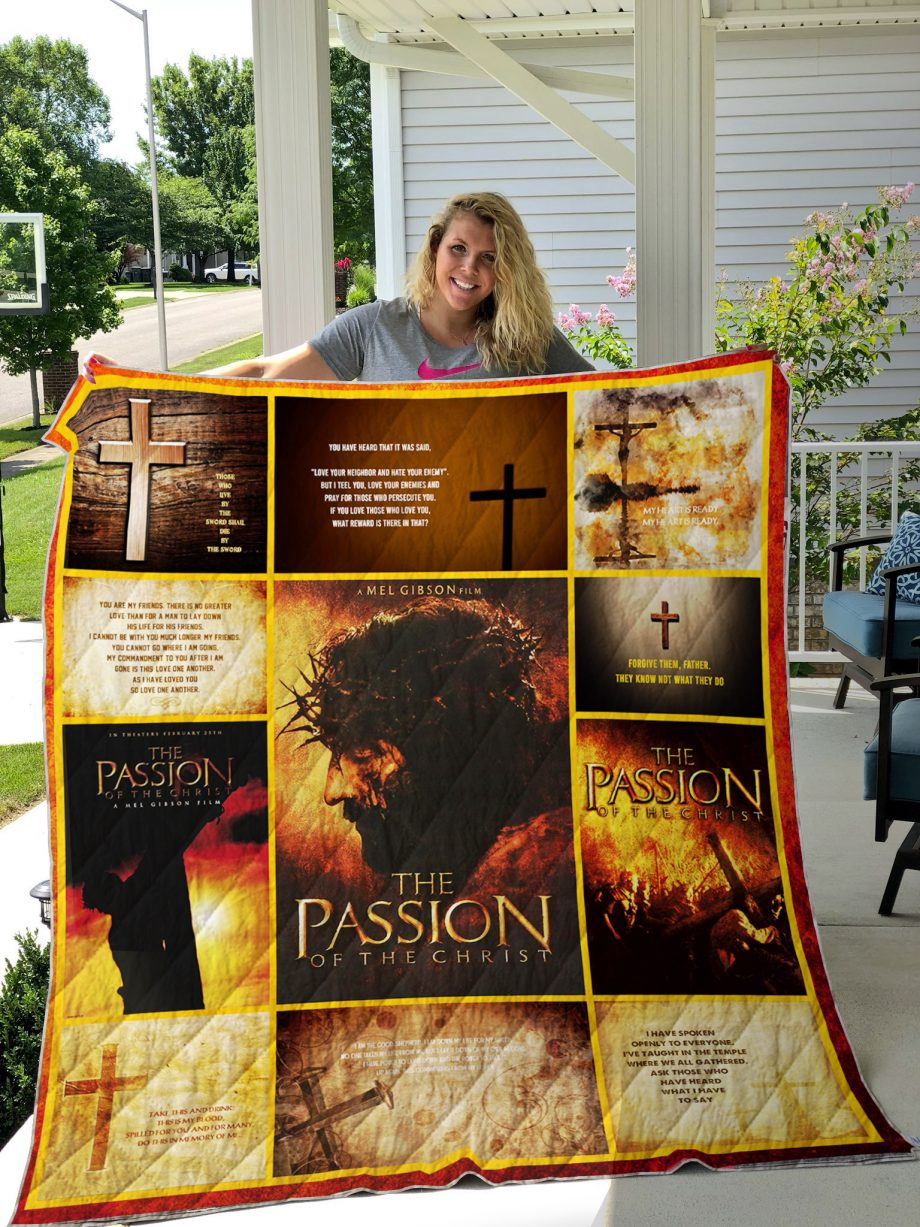 The Passion Of The Christ Quilt Blanket