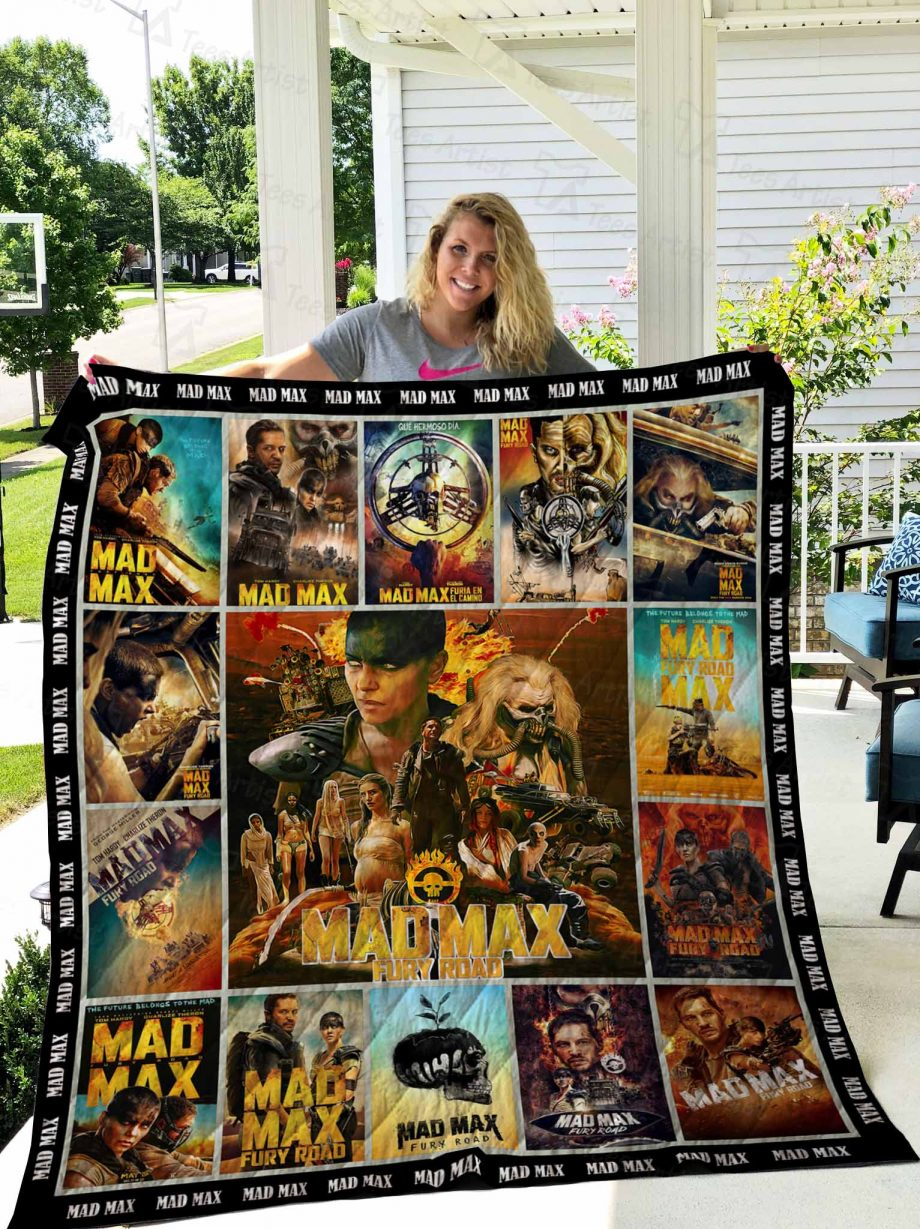 Mad Max Quilt Blanket 02688