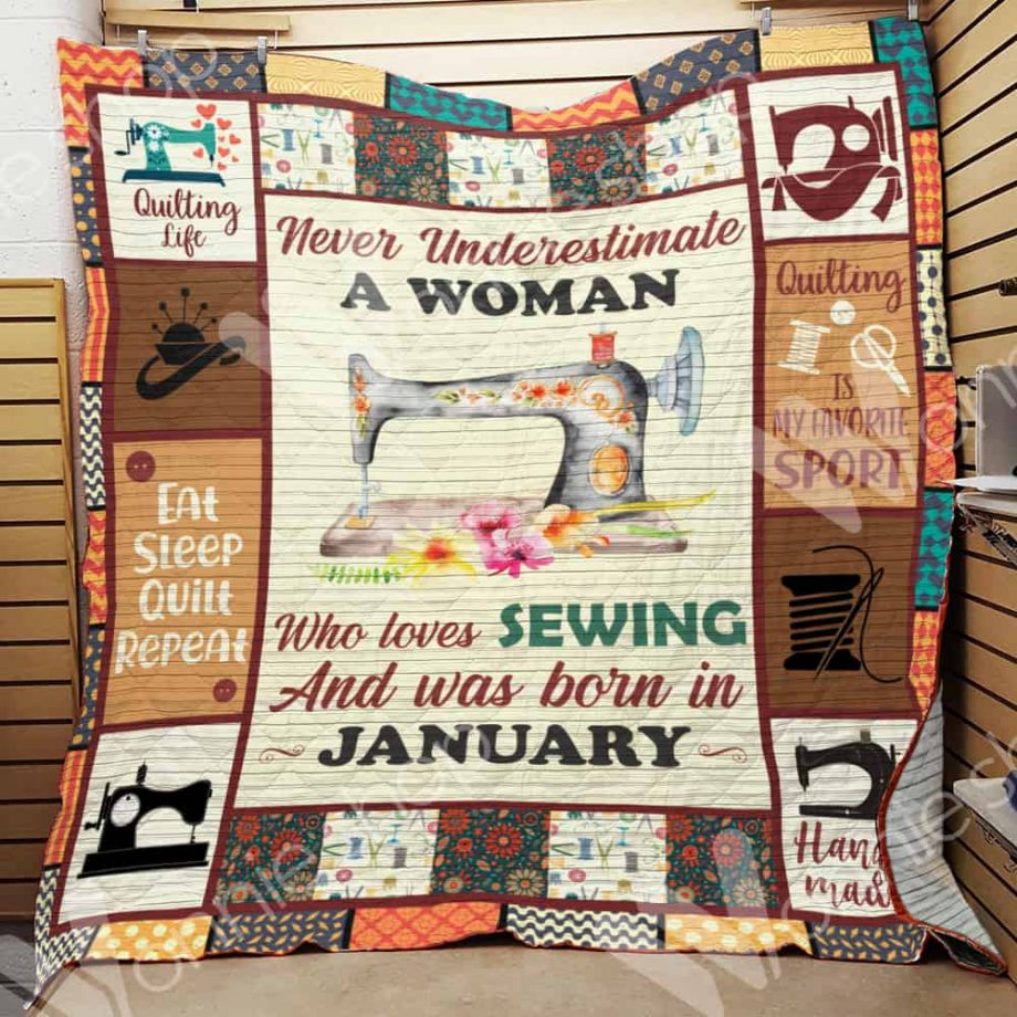 January Woman Quilting Blanket DCB1901 69O59