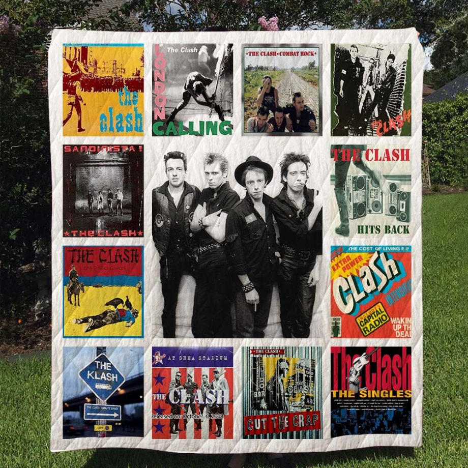 The Clash Quilt Blanket