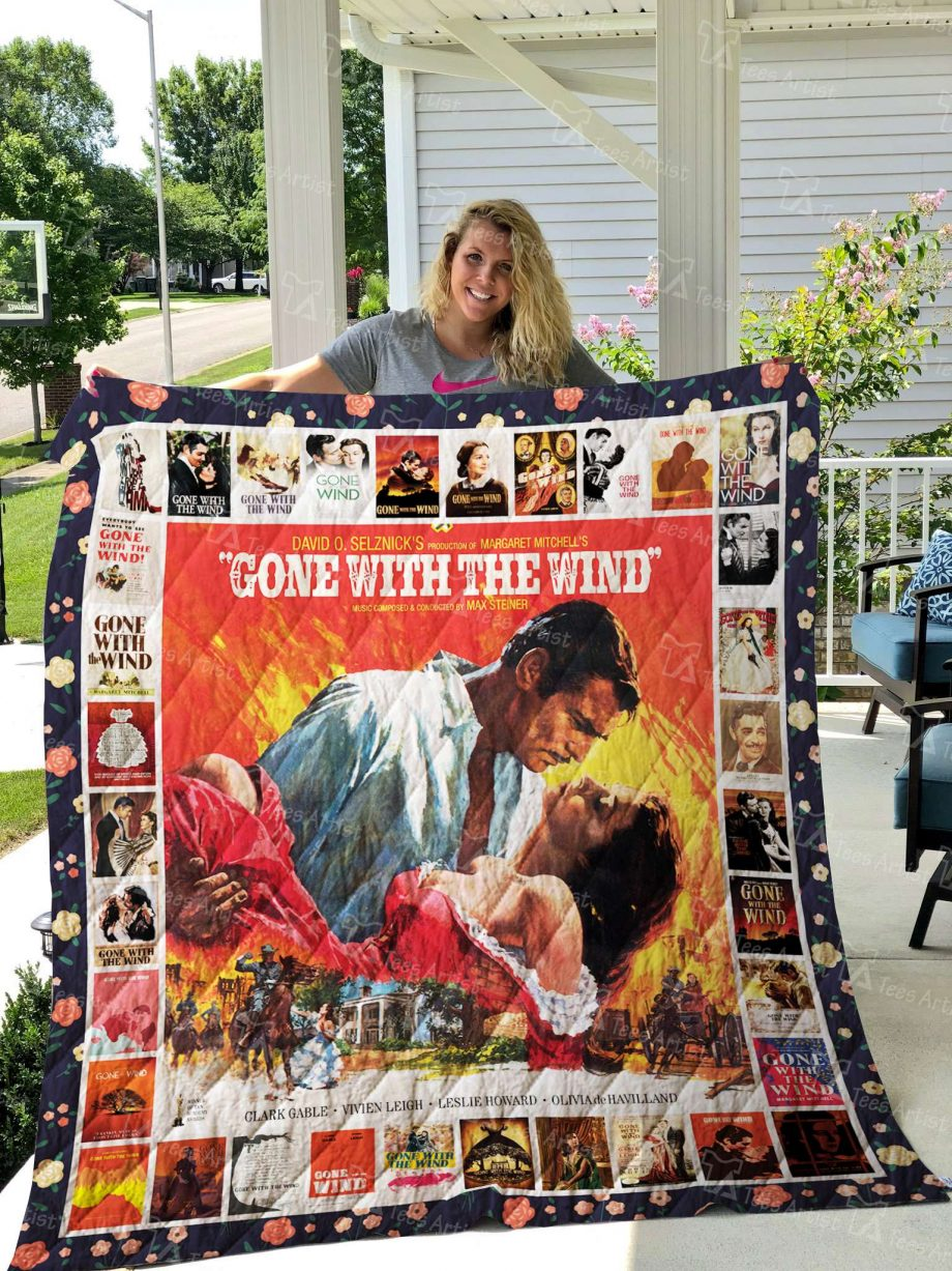Gone With The Wind Quilt Blanket 02601