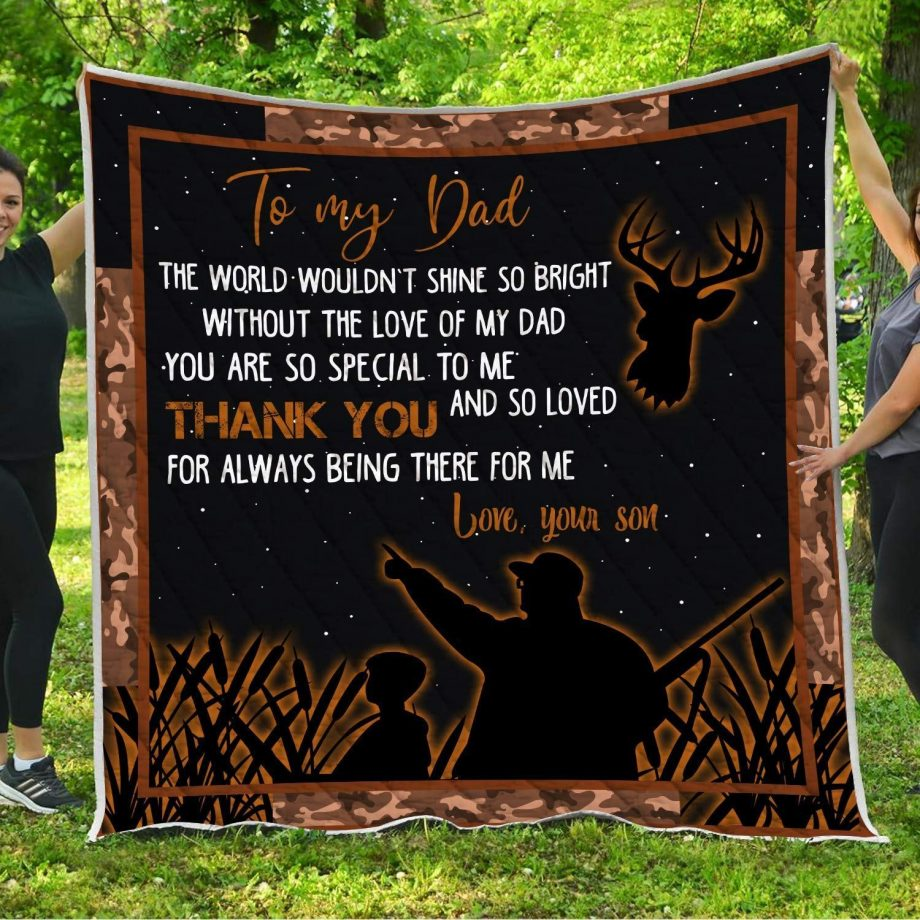 KP8211 Father and Son Quilt Blanket