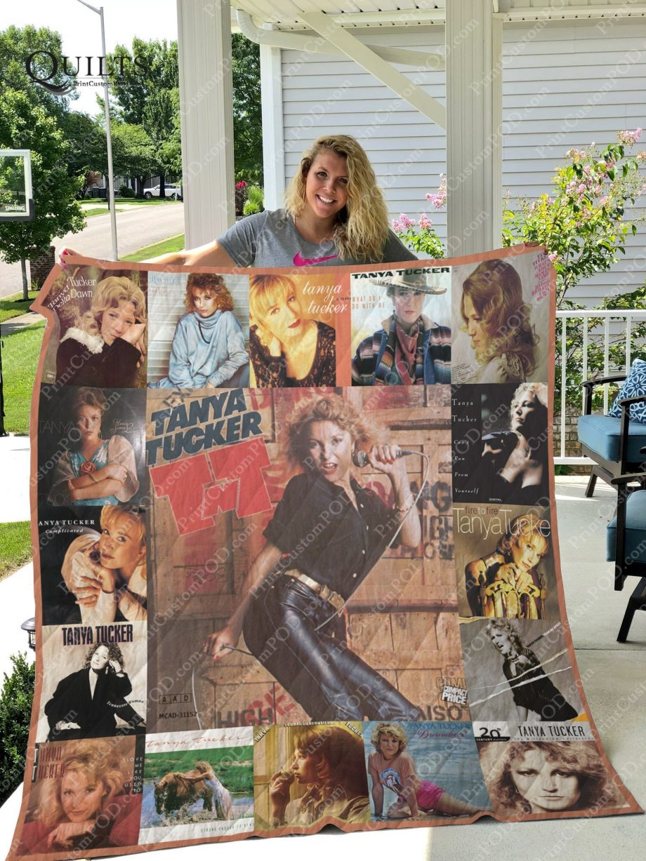 M-Tanya Tucker Quilt Blanket For Fans Ver 17