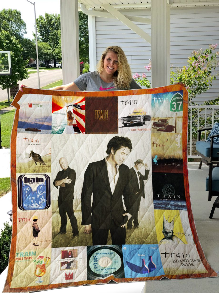 Train Band Album Covers Quilt Blanket
