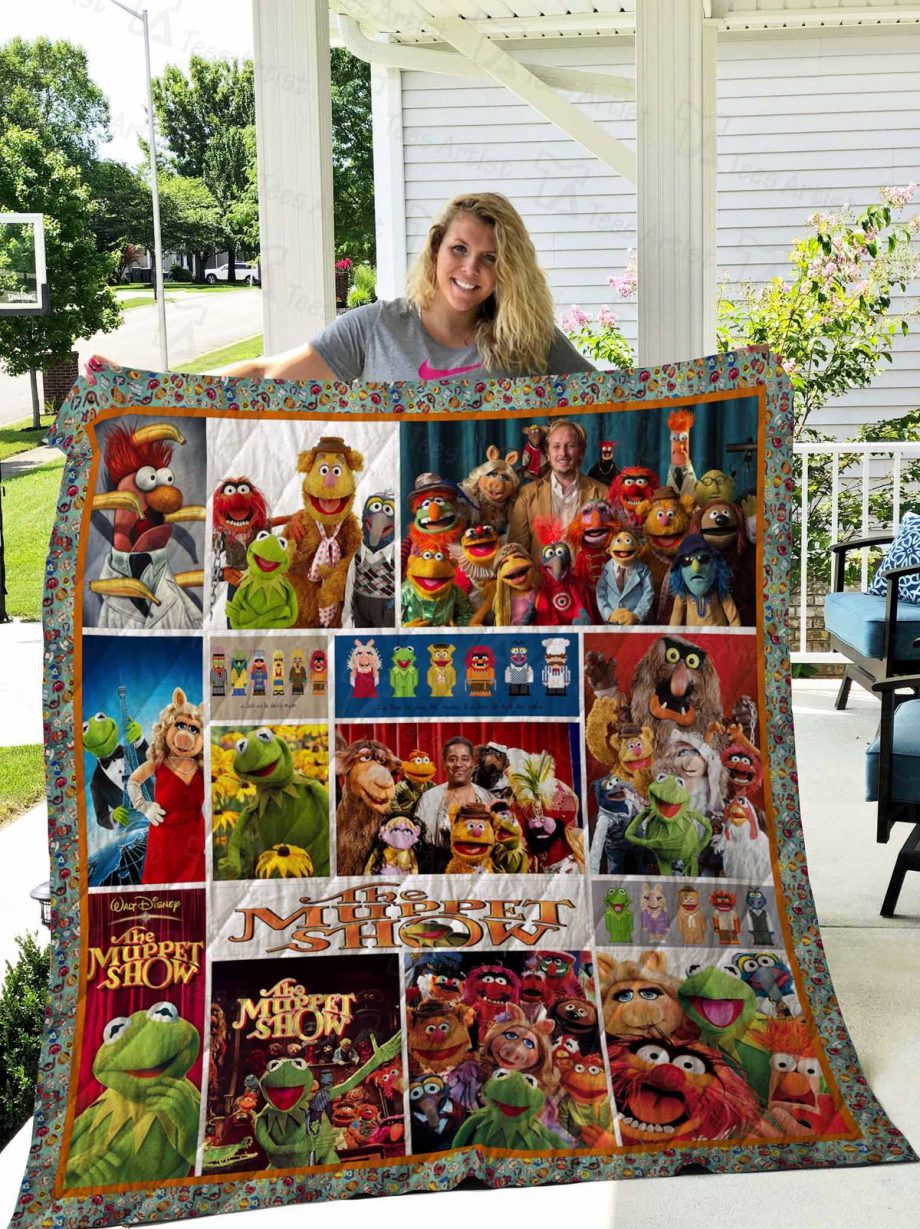 The Muppet Show Quilt Blanket 02720