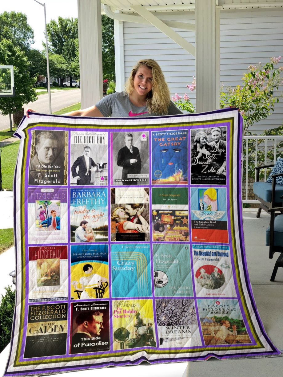 Patricia Cornwell Books Quilt Blanket