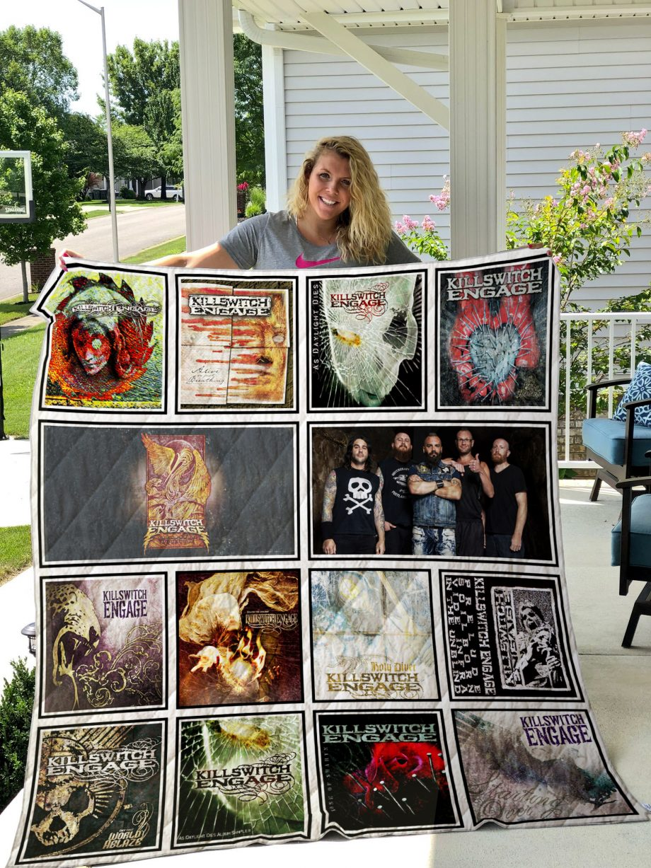 Killswitch Engage  Quilt Blanket
