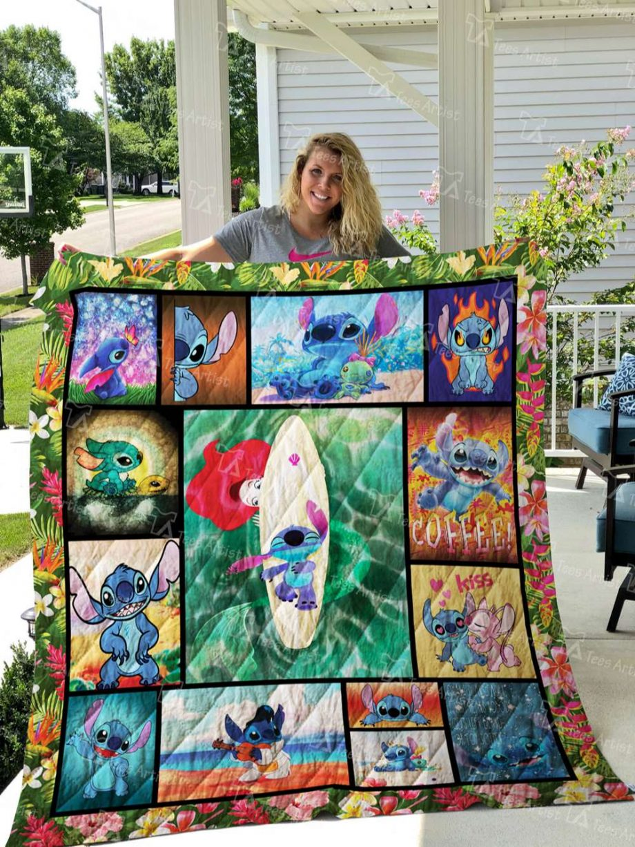 Lilo And Stitch Quilt Blanket 02744