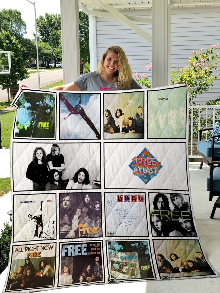 Free Band Quilt Blanket
