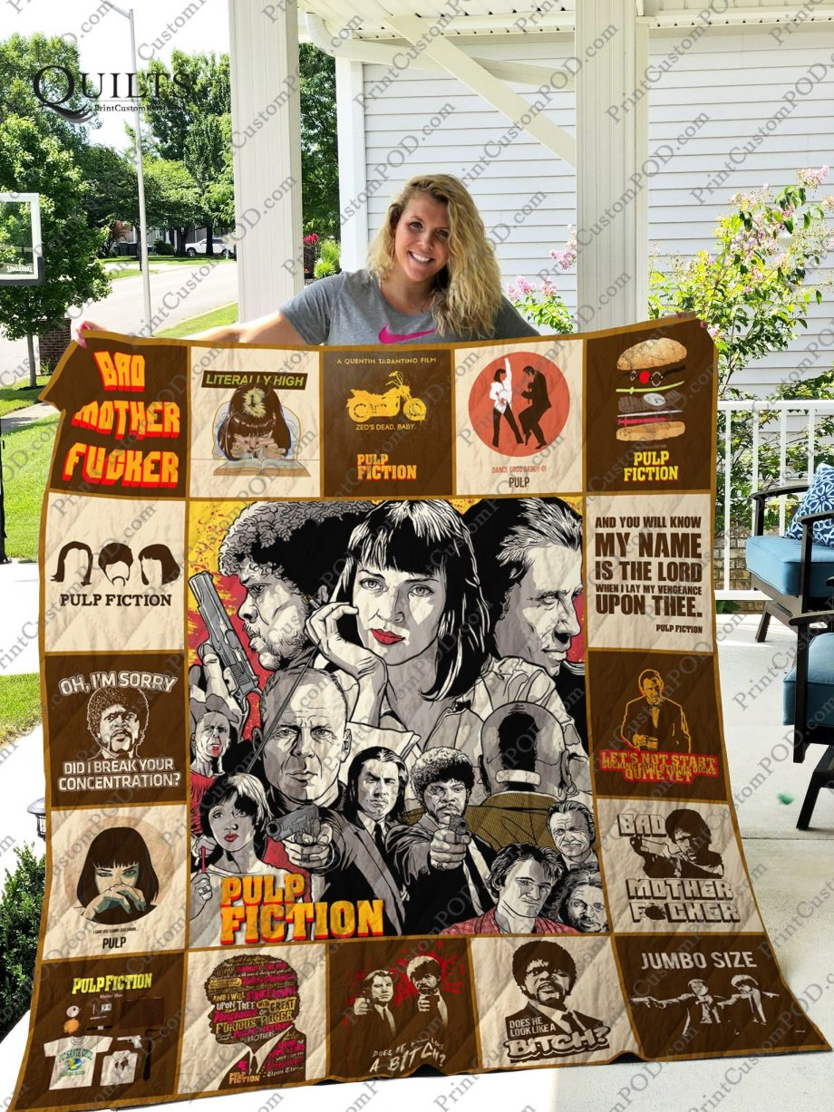 Mofi KP8211 Pulp Fiction Quilt Blanket For Fans Ver 17-1