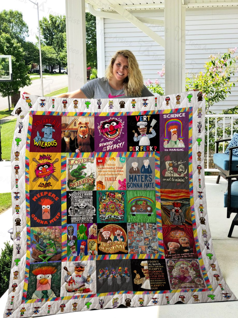 The Muppet Show Quilt 02441