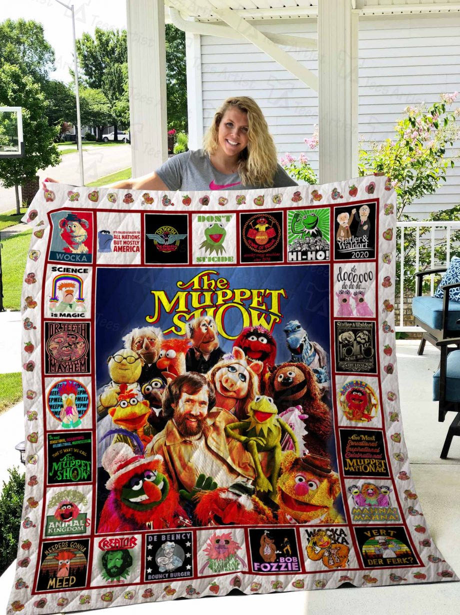 The Muppet Show Quilt Blanket 02684