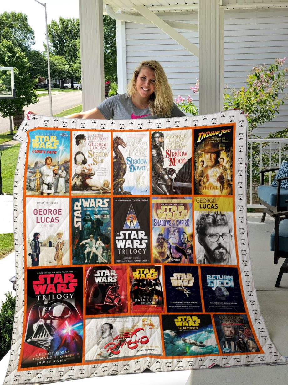 George Lucas Books Quilt Blanket