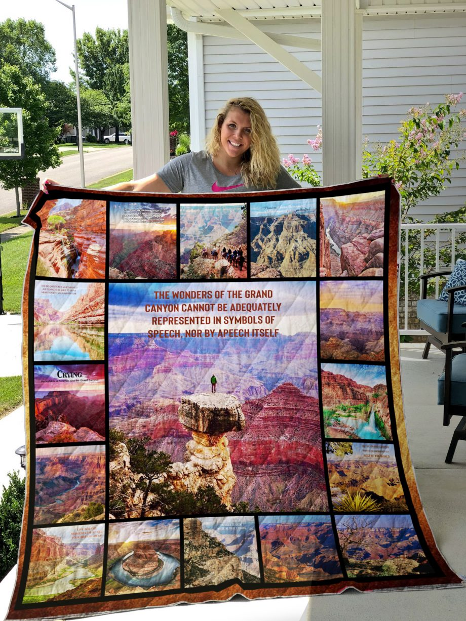 Grand Canyon National Park Quilt Blanket