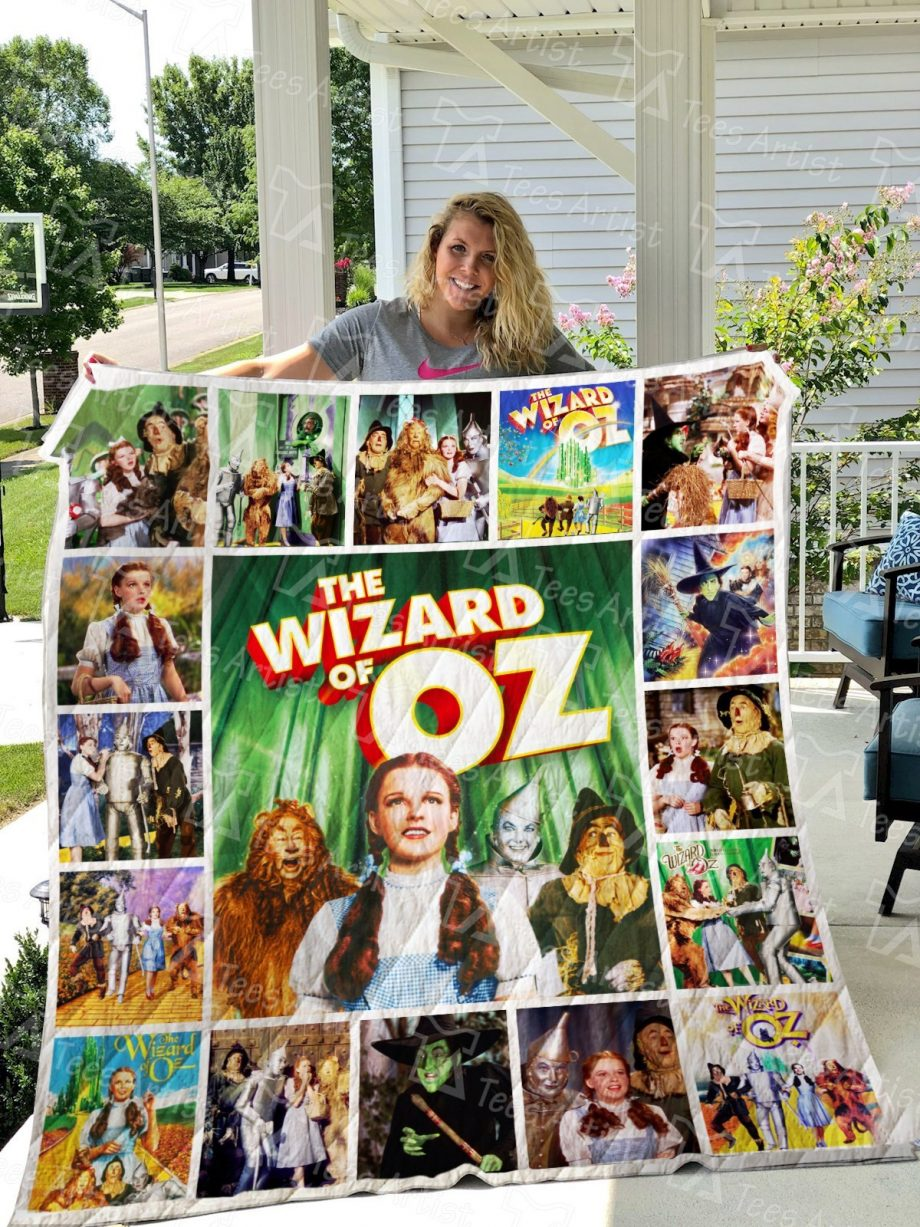 The Wizard Of Oz Quilt Blanket 0732