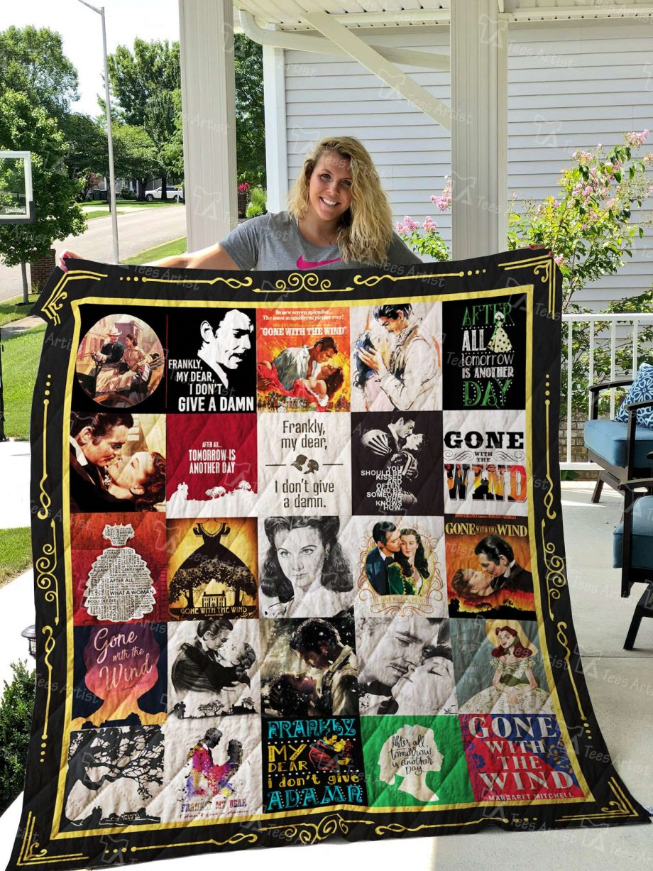 Gone With The Wind Quilt Blanket 02678
