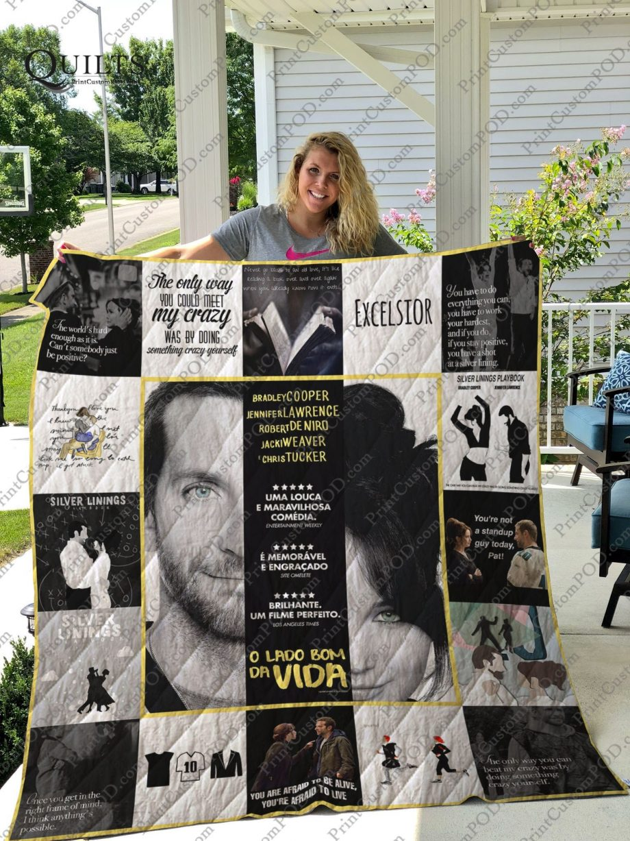 Silver Linings Playbook T-shirt Quilt