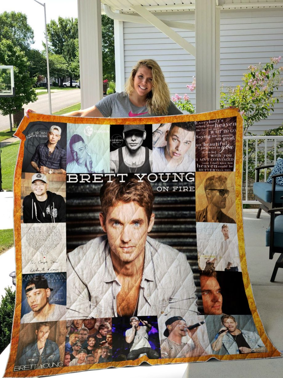 Kane Brown and Brett Young custom quilt 01