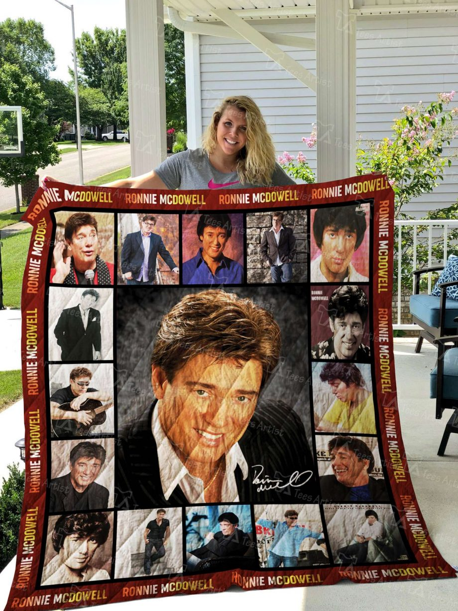 Ronnie McDowell Quilt Blanket 02575