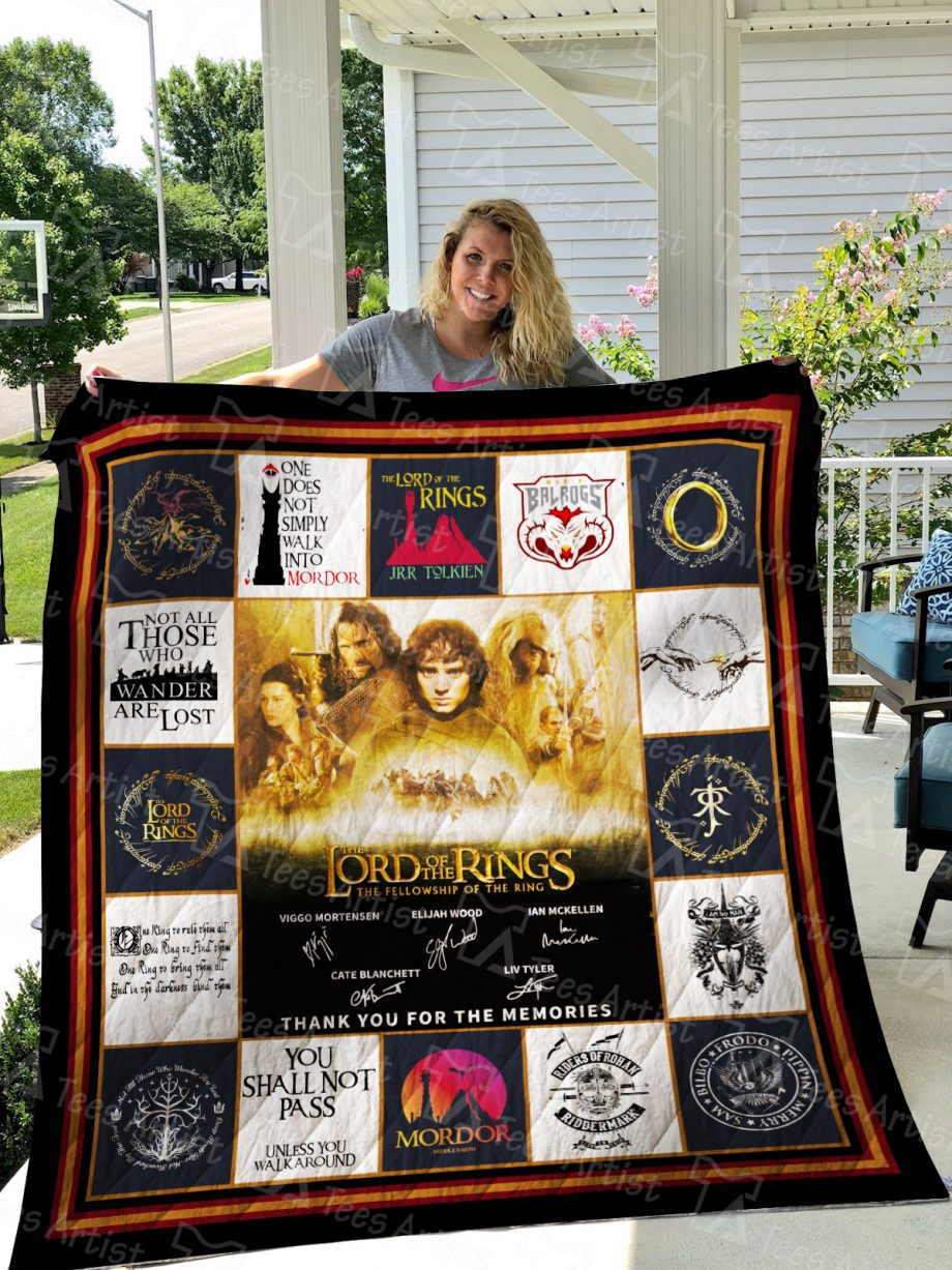 Lord of the Rings Quilt Blanket 01555