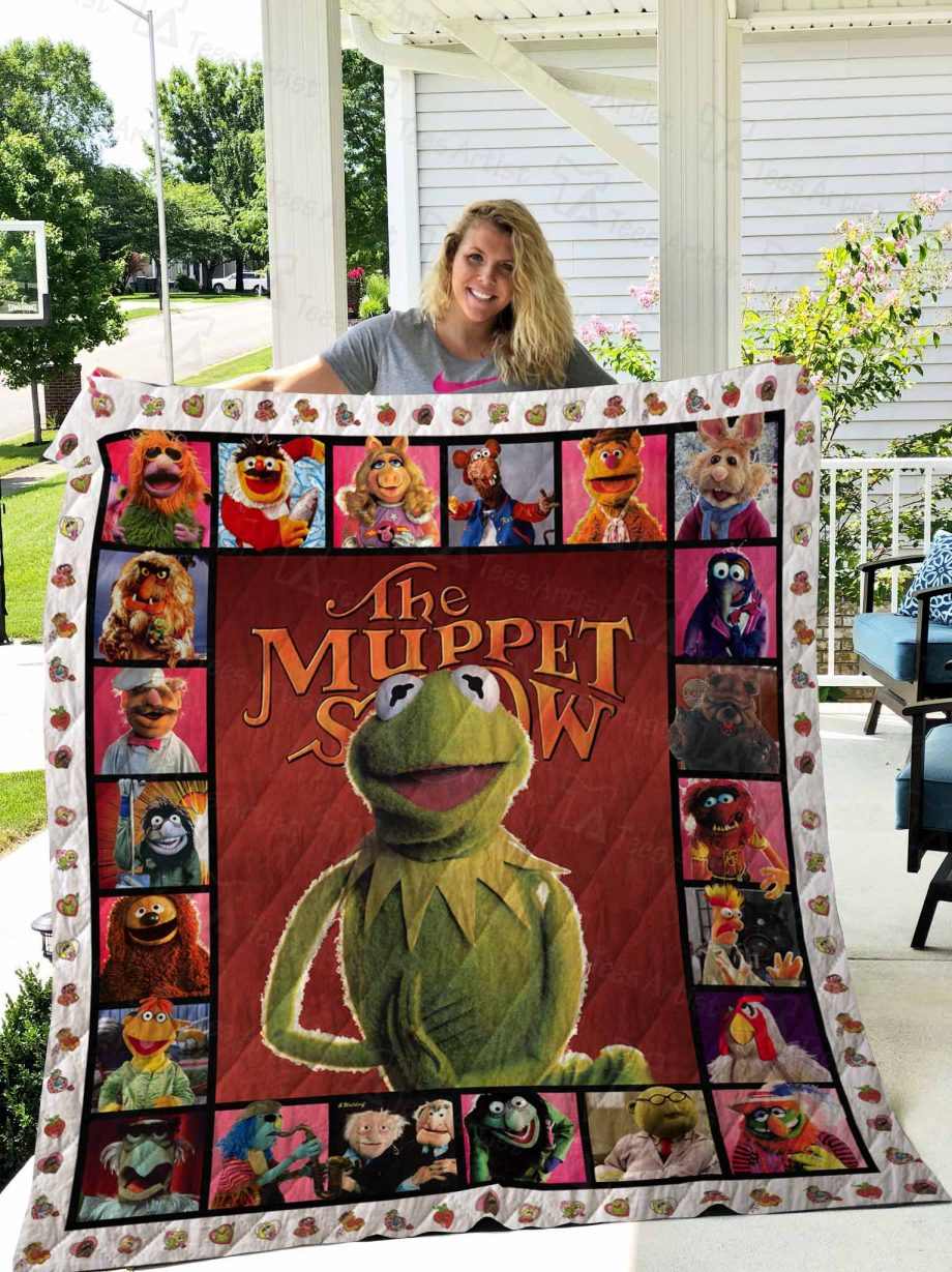 The Muppet Show Quilt Blanket 02685