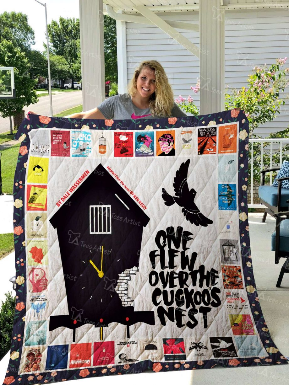 One Flew Over the CuckooKP8217s Nest Quilt Blanket 02686