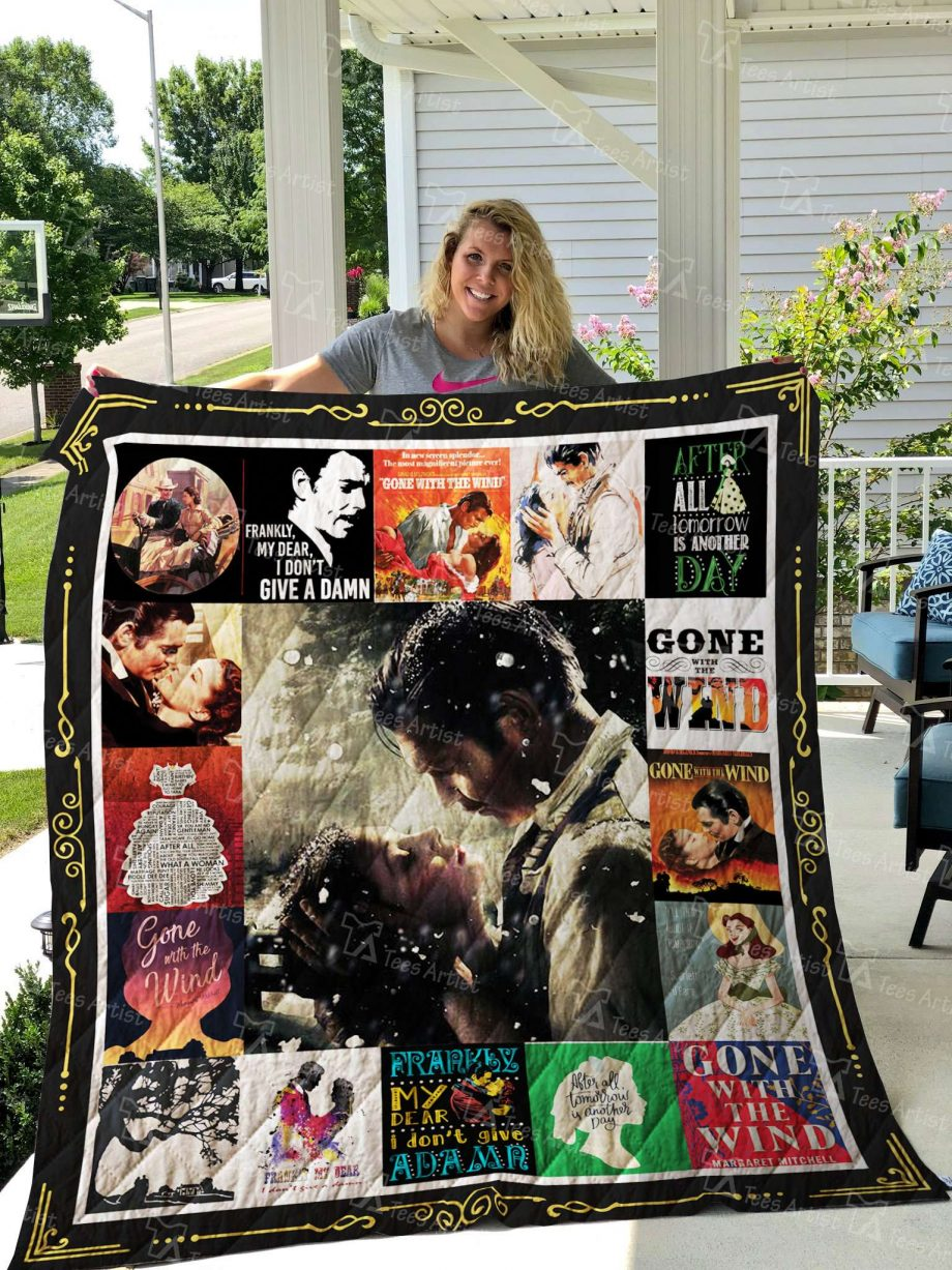 Gone With The Wind Quilt Blanket 02677