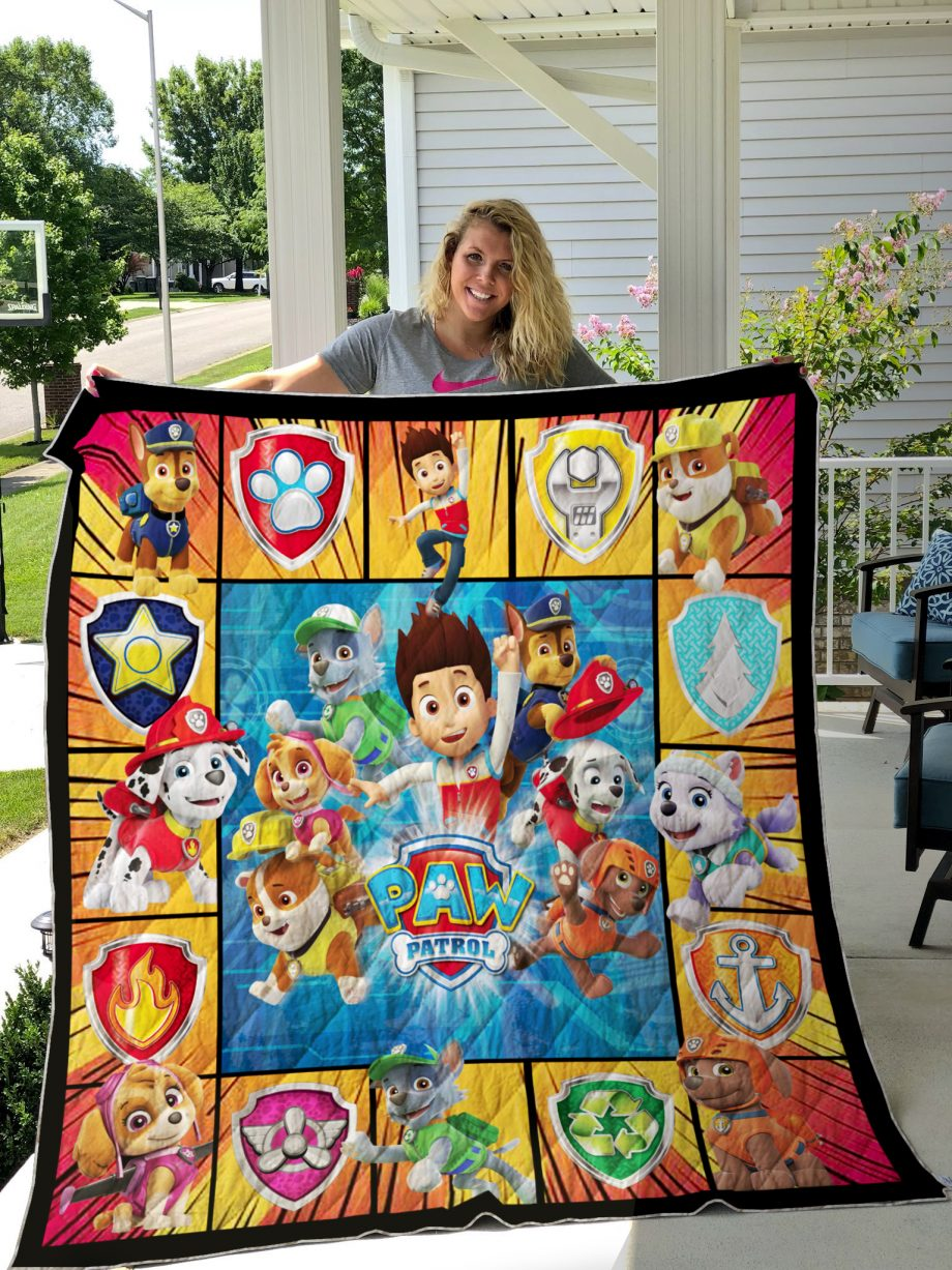 PAW Patrol Style 2 Quilt Blanket
