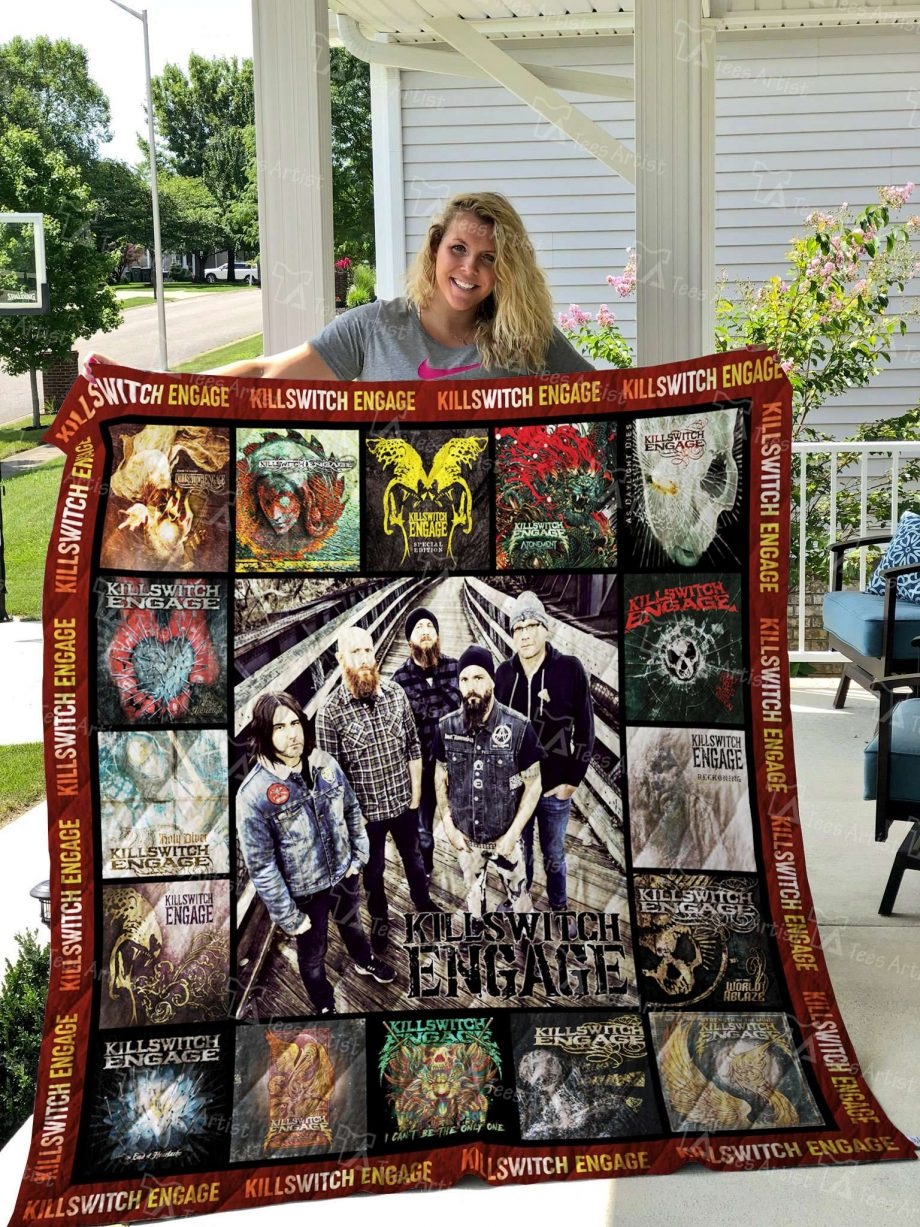 Killswitch Engage Quilt Blanket 2587