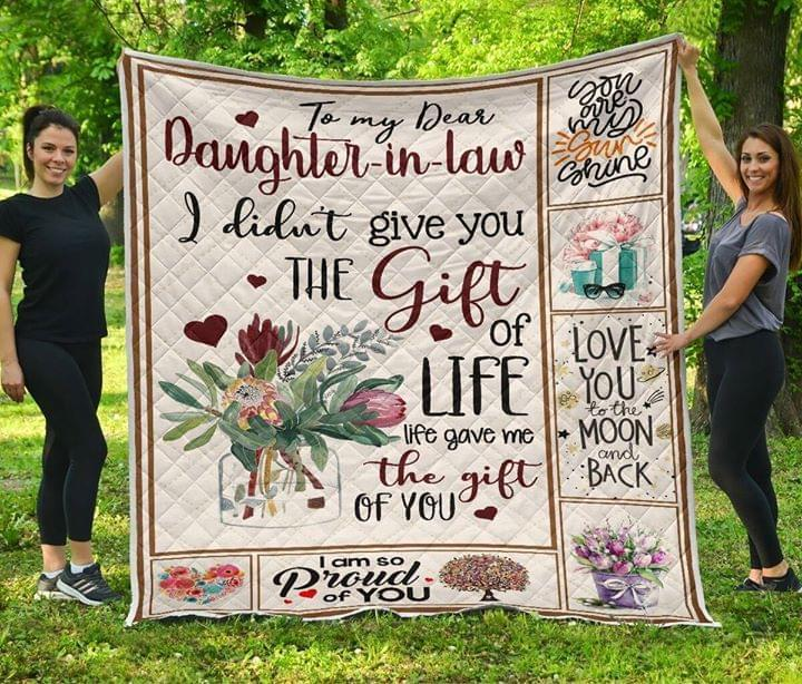 BTT KP8211 MOM TO DAUGHTER IN LAW Quilt