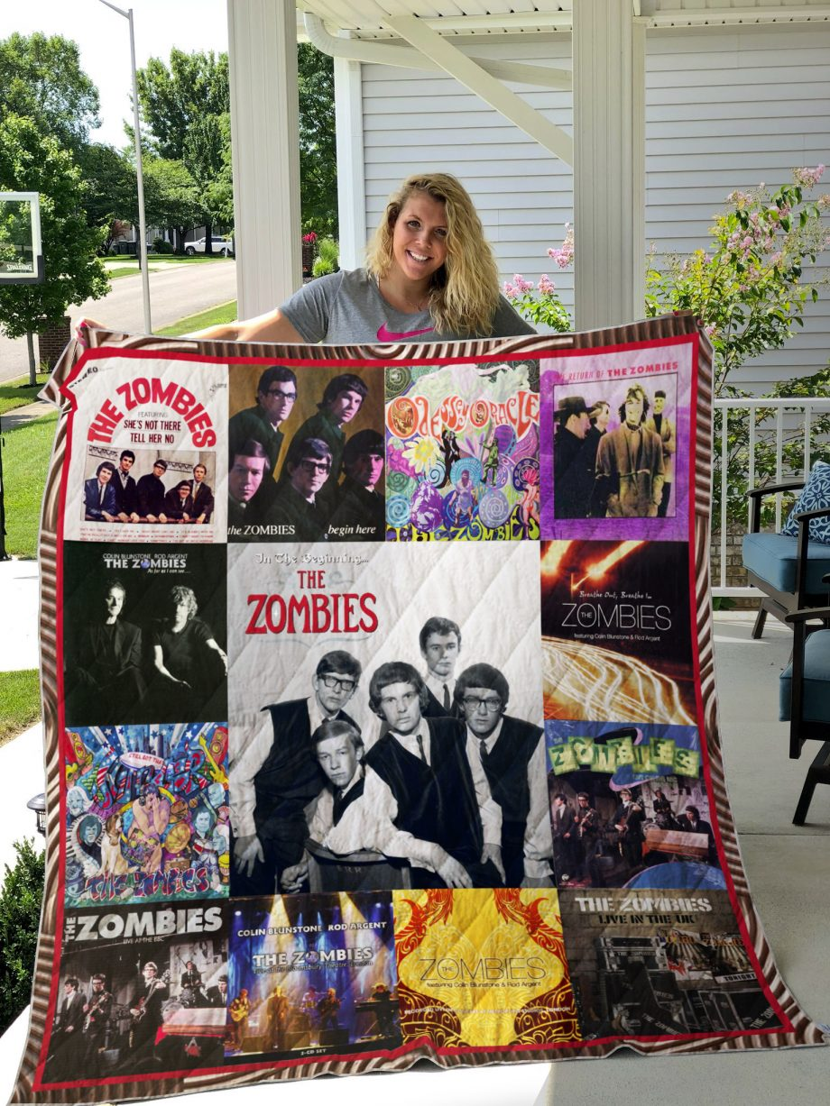 The Zombies Album Covers Quilt Blanket