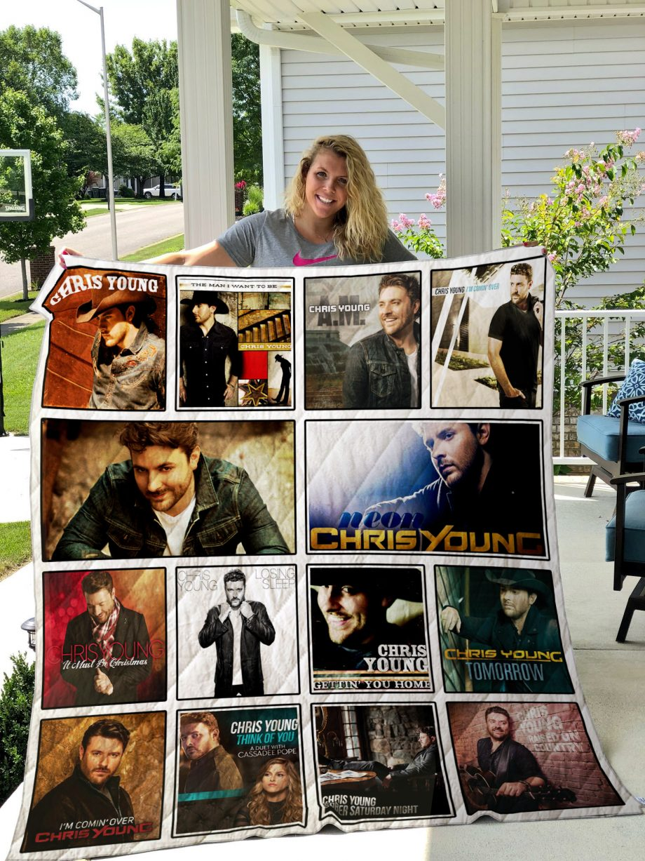 Chris Young Quilt Blanket