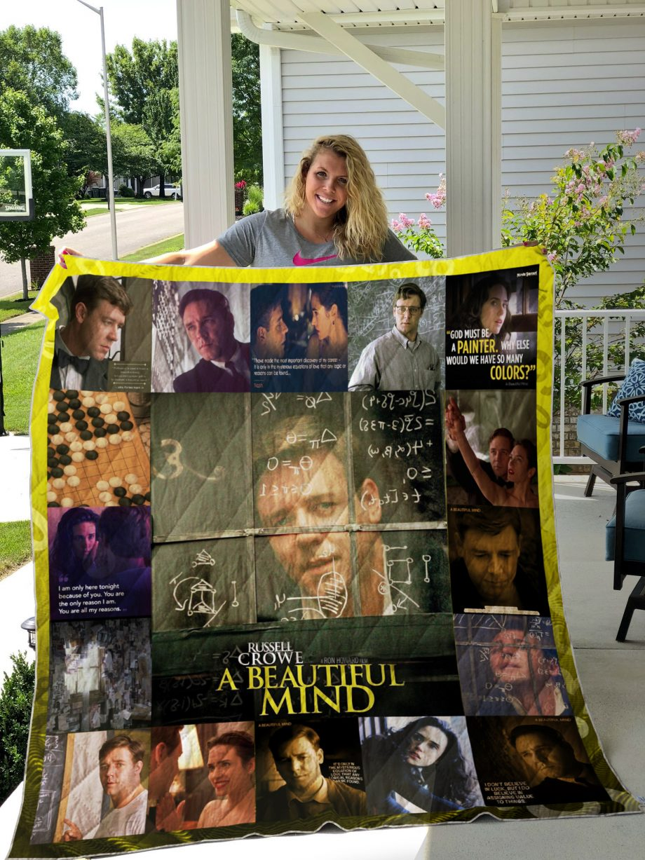 A Beautiful Mind (film) Quilt Blanket