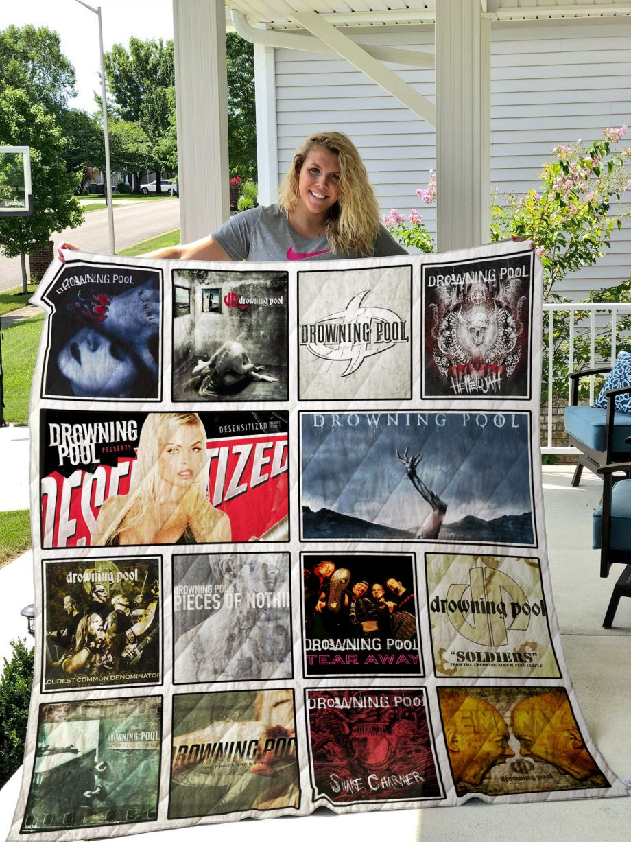 Drowning Pool Quilt Blanket