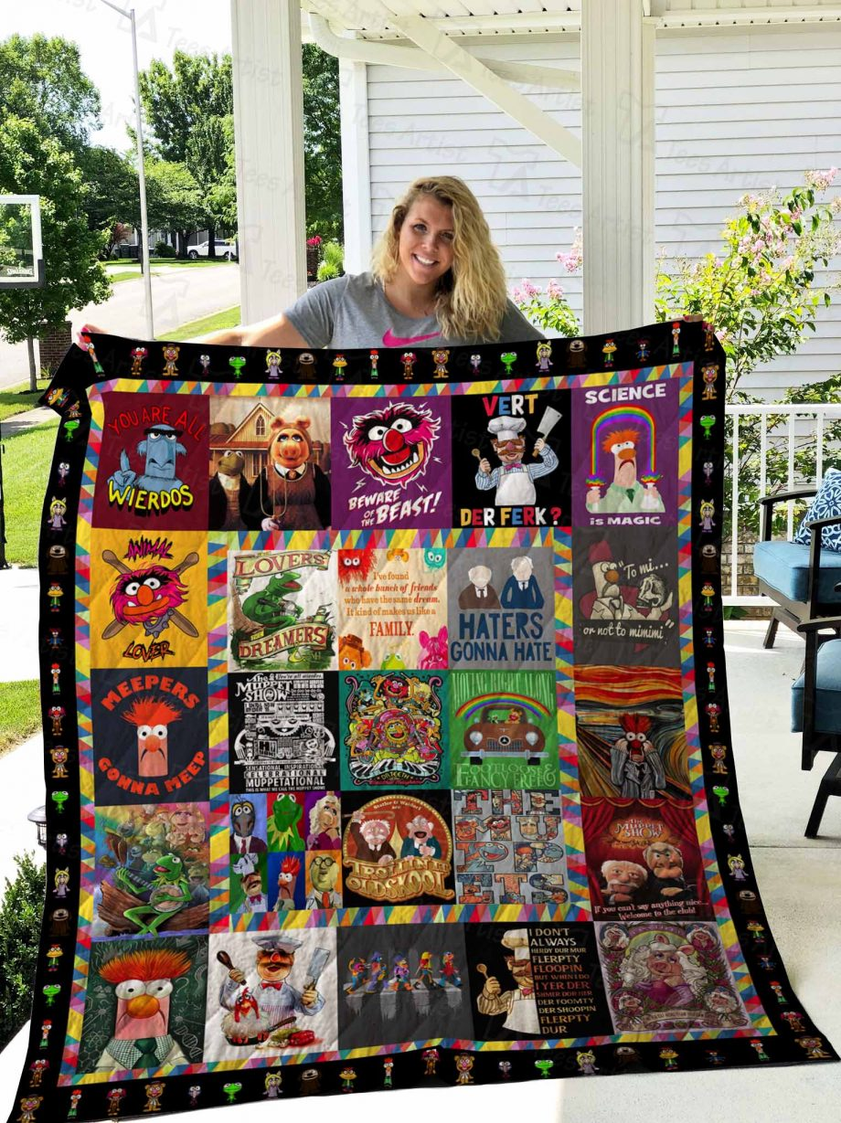 The Muppet Show Quilt Blanket 02672