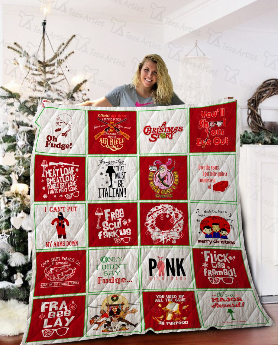 A Christmas Story Quilt Blanket 02126