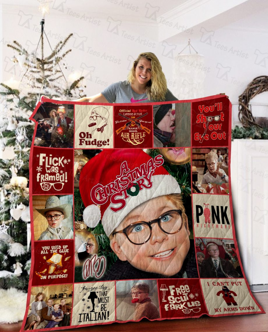 A Christmas Story Quilt Blanket 02161