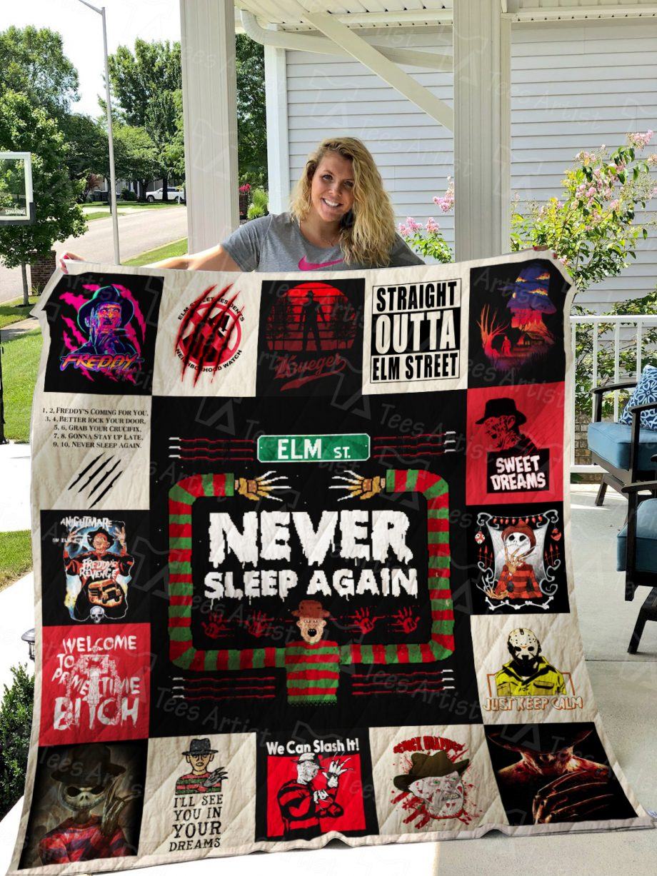 A Nightmare on Elm Street Quilt Blanket 01184